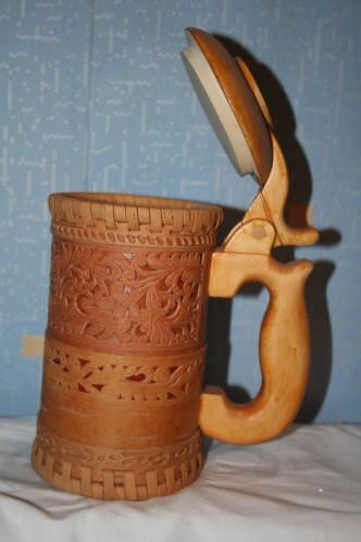 Как сделать деревянный бокал